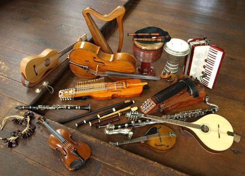 Traditional Irish instruments - musical instruments