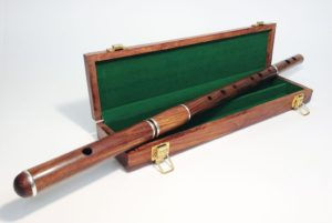 The McNeela Cygnet Rosewood flute is the best beginner Irish flute on the market