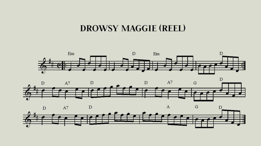 Drowsy Maggie Reel