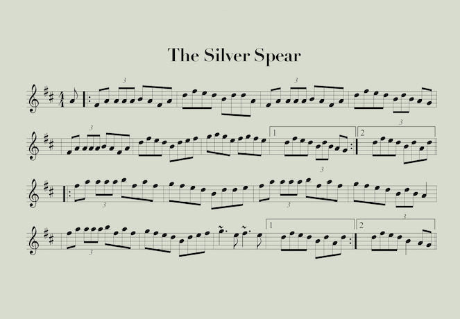 The Silver Spear Reel