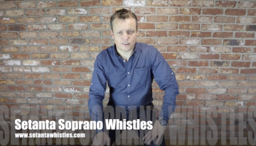 John O'Brien launches the newest premium whistle on the market, the Setanta Soprano Whistles