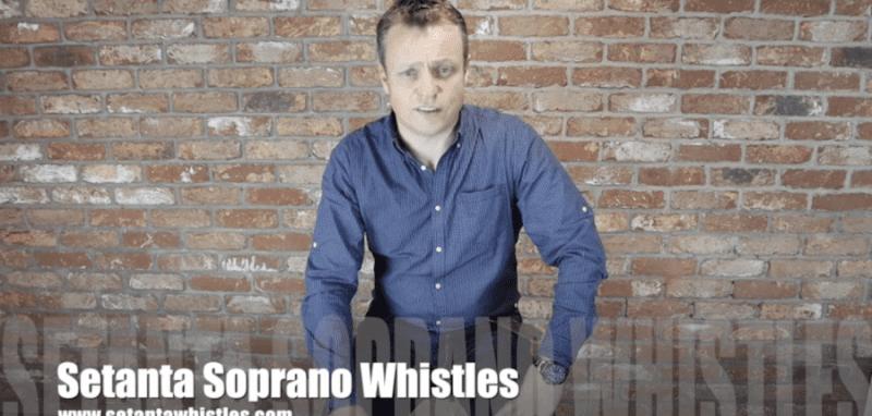 John O'Brien launches the newest premium whistle on the market, the Setanta Soprano