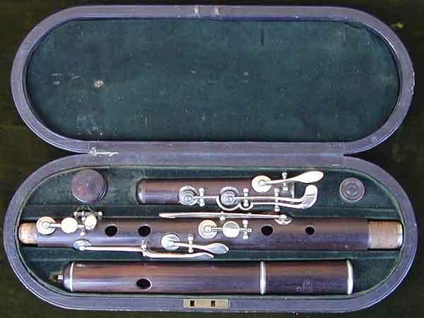 Siccama flute - same make played by Pratten