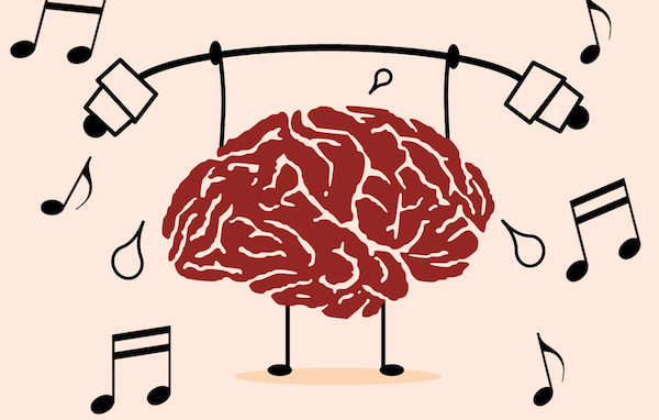 Music Trains your Brain - brain training with musical notes - the benefits of music learning for mental health