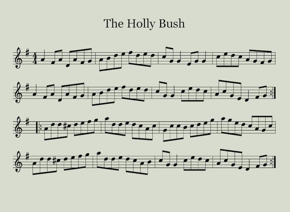 The Holly Bush Sheet Music