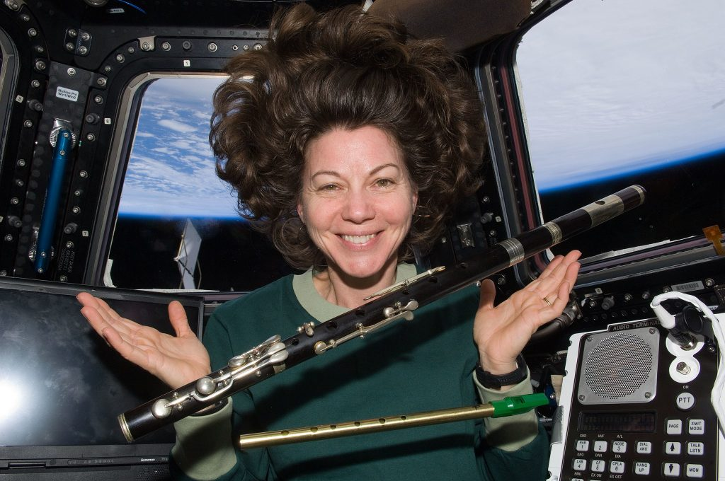 Irish flute on board the ISS Internation Space Station