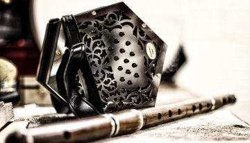 The McNeela Swan concertina is a premium Beginner Concertina with great Reviews
