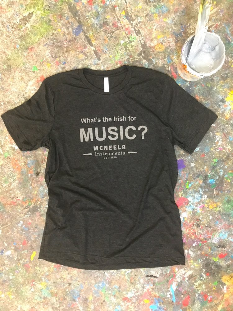 The brand new McNeela Music Screenprinted T-Shirt