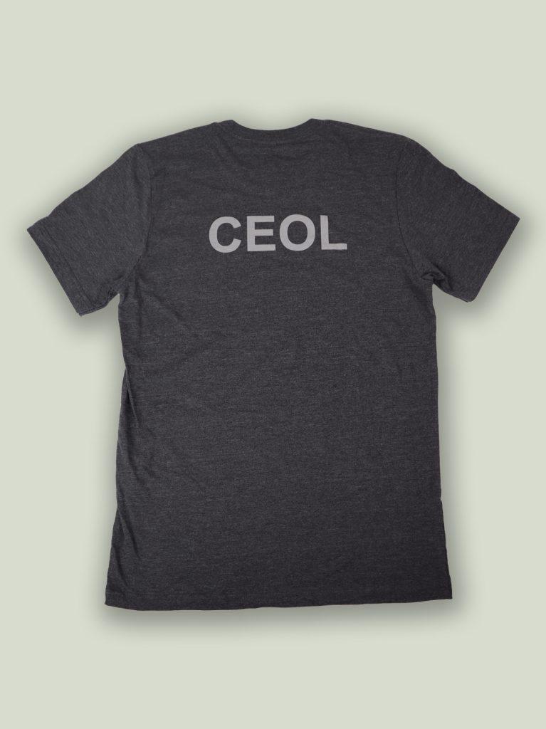 Ceol - back of mcneela t-shirt