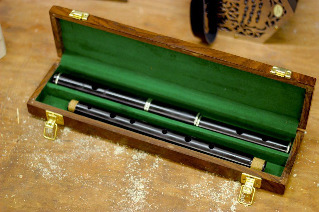 Irish Wooden Flute Tuning - McNeela African Blackwood Flute