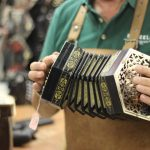 Paraic McNeela plays a Jeffries Concertina