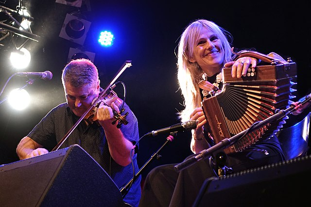 Sharon Shannon on the Irish Button Accordion