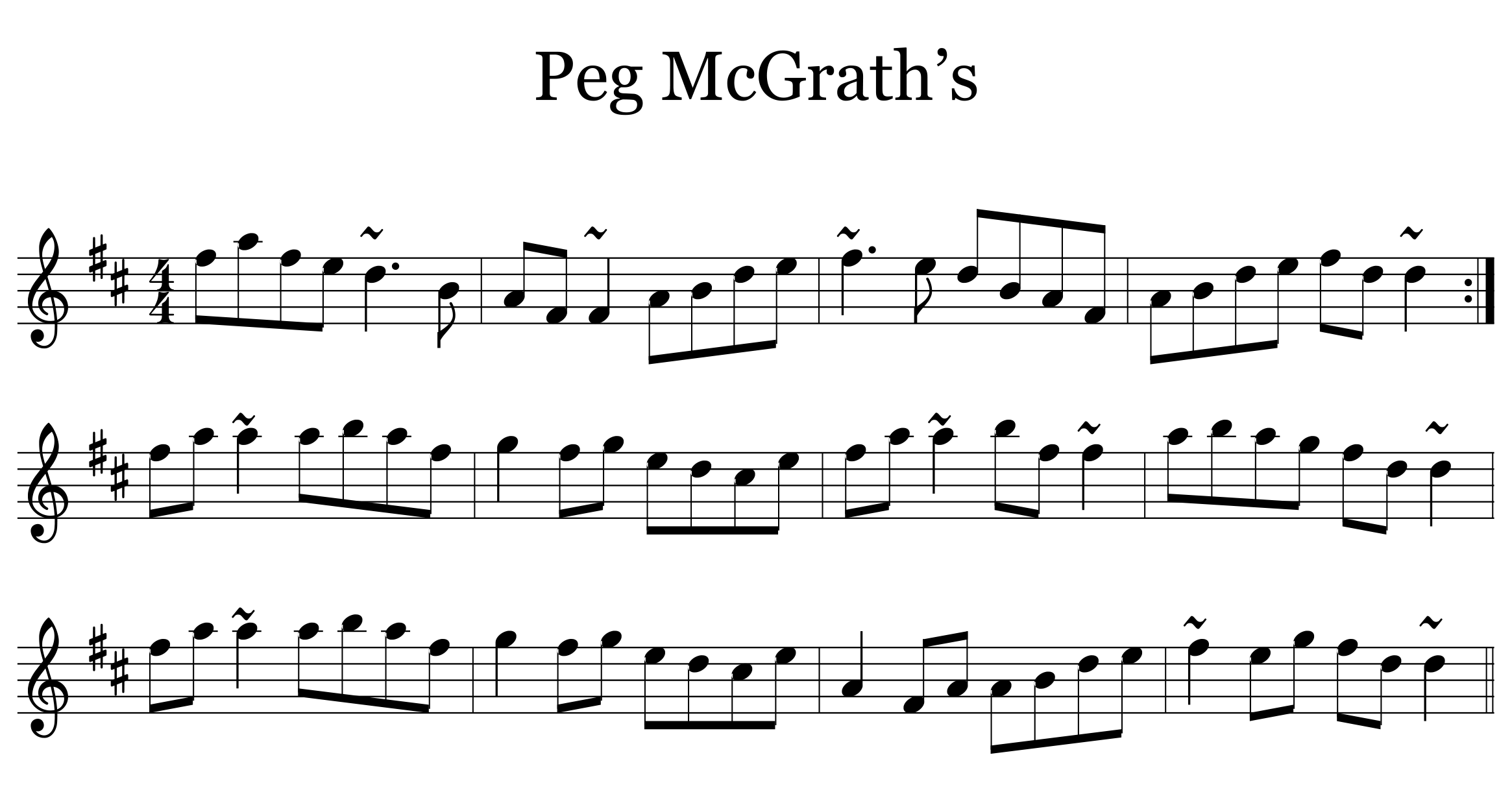 Peg McGrath's Reel