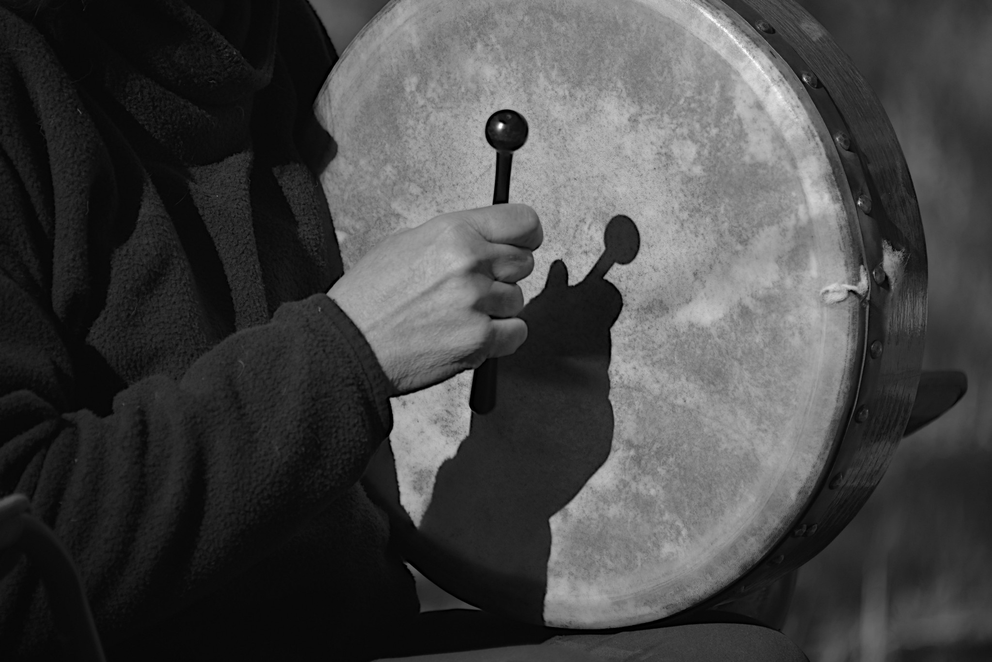 Bodhran Player