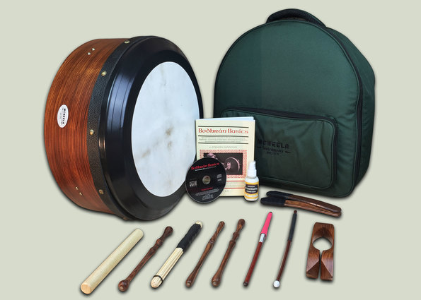 "Rosewood 16"" Tuneable Bodhran Set"