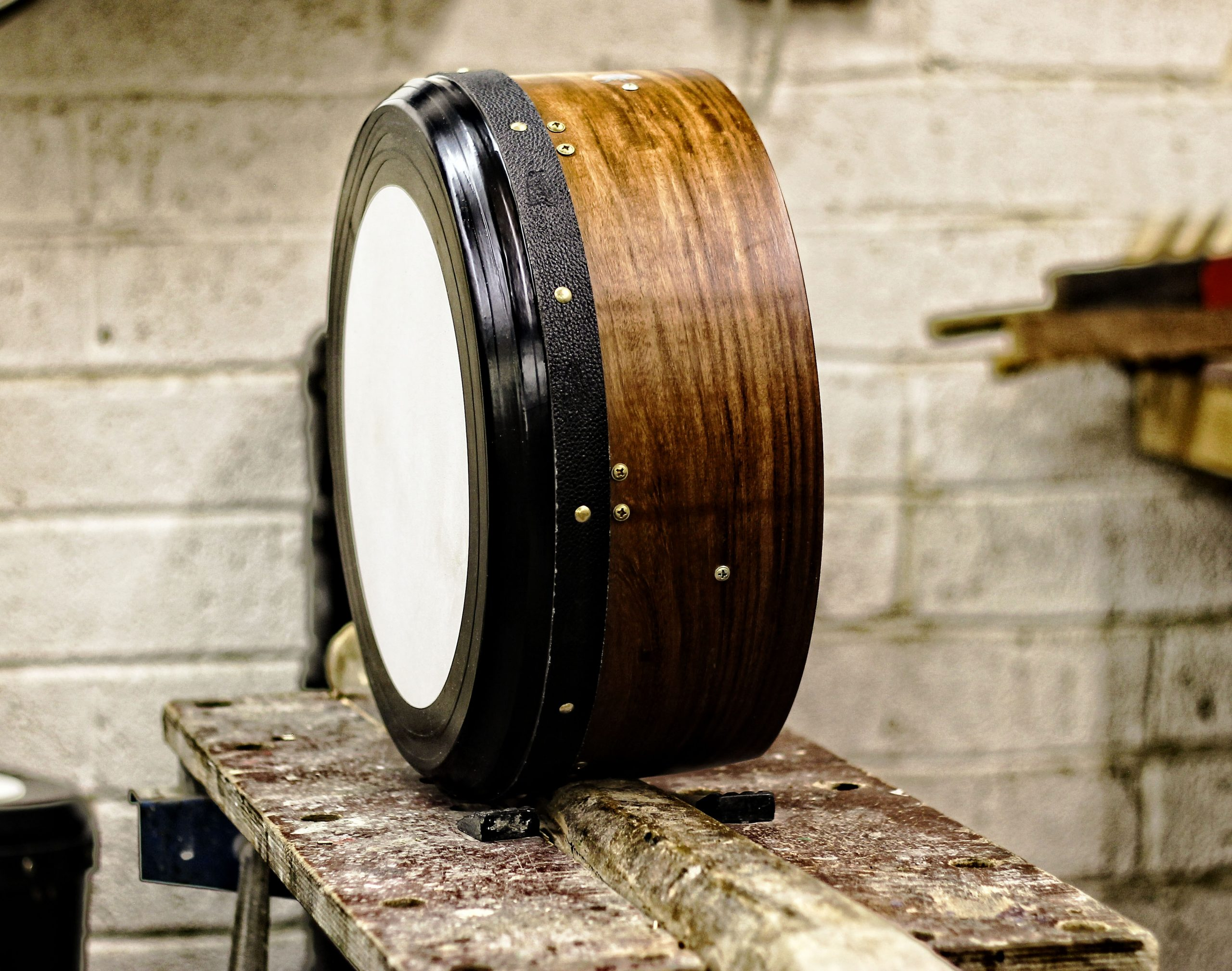 Taped Rosewood Bodhran