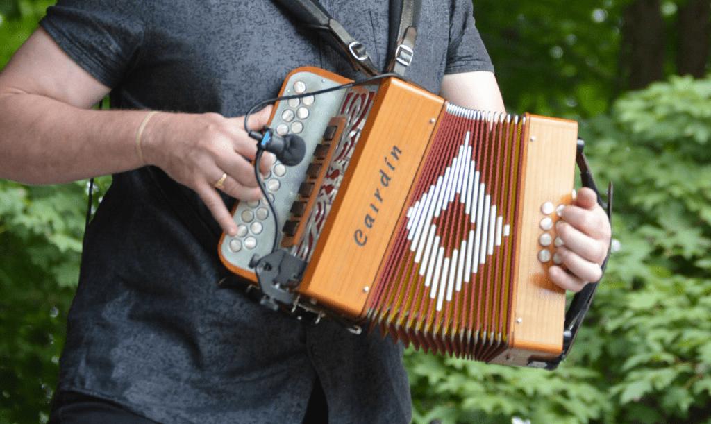 cairdín-accordion