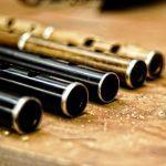 Irish flute maker wooden flute