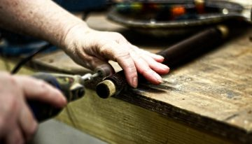 Irish flute making