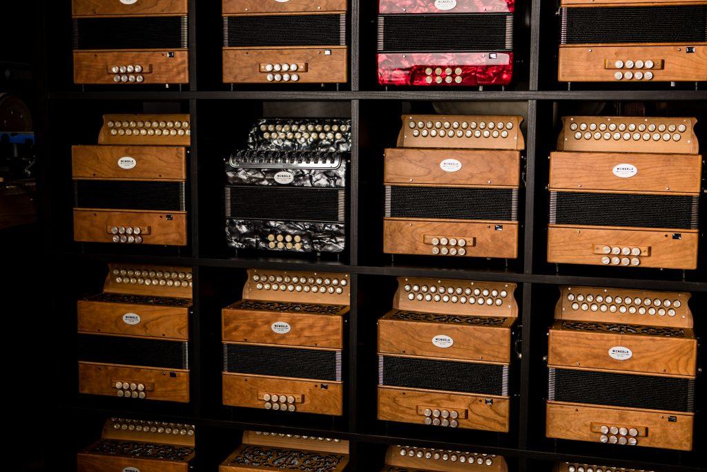 Best button accordions - McNeela Irish button accordion workshop