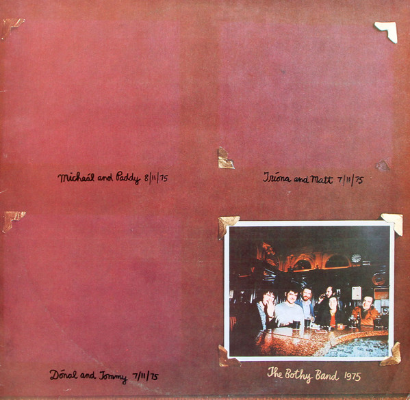 bothy band 1975 album cover
