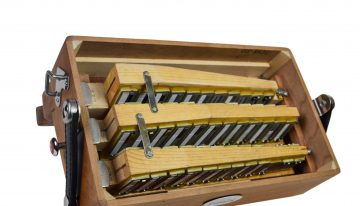 mcneela Irish button accordion interior - reed banks