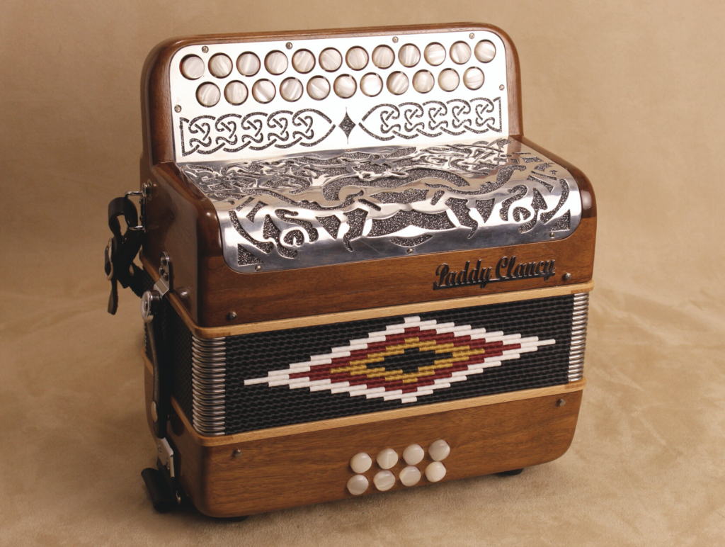Best button accordions - Paddy Clancy Irish music button accordion