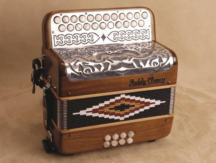 Paddy Clancy Irish music button accordion