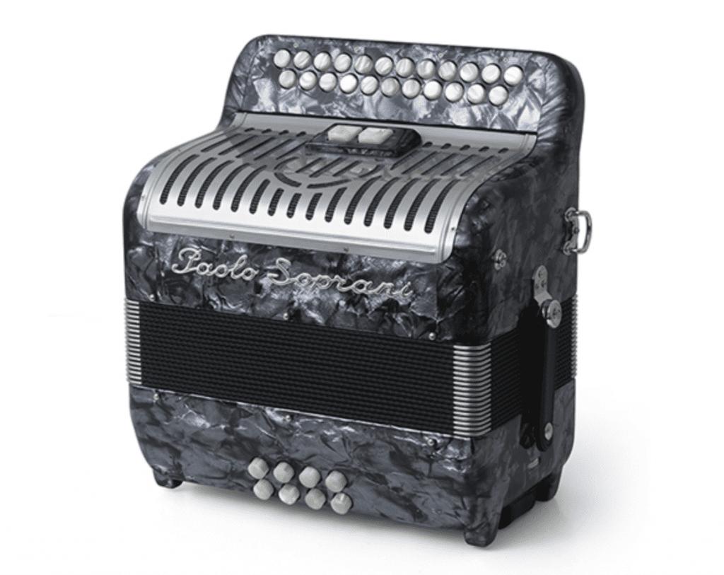 Paolo Soprani Jubilee IV Irish music button accordion