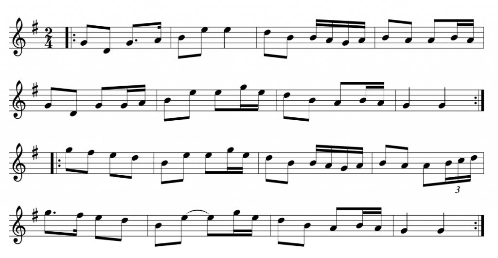 Maggie In The Woods Polka - traditional Irish polka