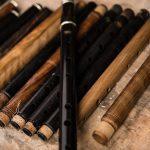 Best Irish Flute - Collection of Irish wooden flutes in McNeela Instruments workshop, Dublin