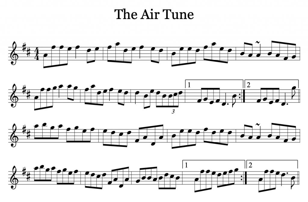 The Air Tune by Liz Carroll