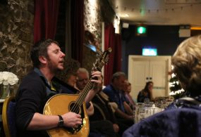Irish bouzouki player and singer songwriter Daoirí Farrell