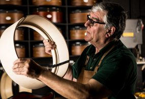 The art of bodhrán making - how Irish bodhráns are made