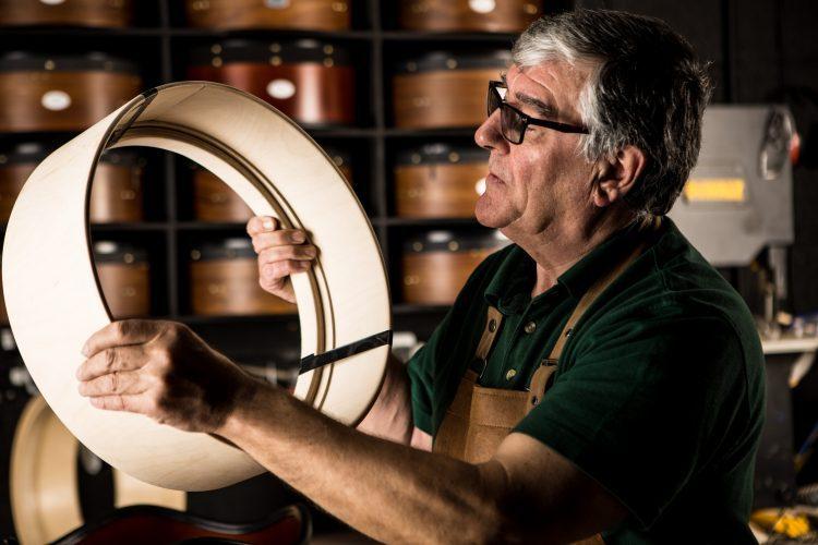 The art of bodhrán making - how Irish bodhráns are made